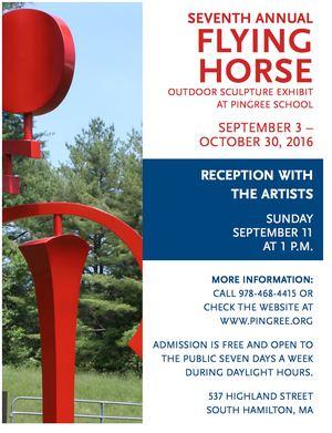 Flying Horse Outdoor Sculpture Exhibit