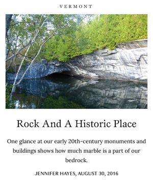 Take Magazine - Rock and a Historic Place