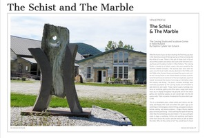 Vermont Art Guide - The Schist and The Marble