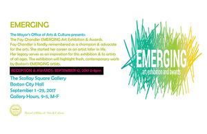 Fay Chandler Emerging Art Exhibition