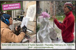 Artist Talk 2/25 at 7pm